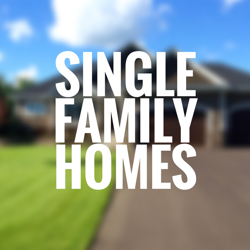 single family rent to own